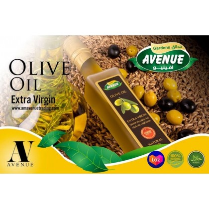 Avenue Extra Virgin  Olive Oil ( 500ml - 250 ml ) minyak zaitun asli