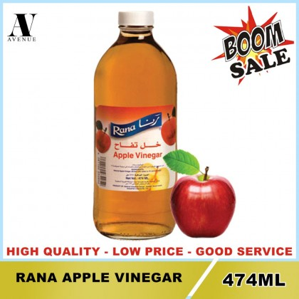 Rana Vinegar 474ML Bottle ( Apple - white )
